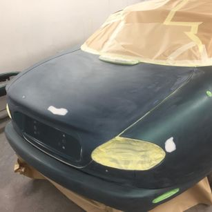 Jaguar XK8 1998 Convertible Complete Repaint - rear boot small repair