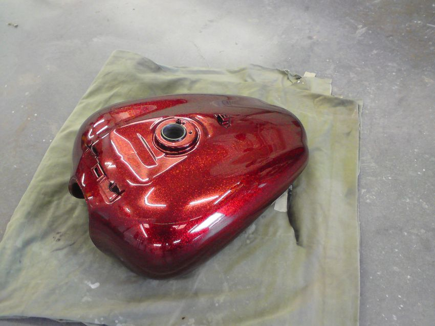 Harly Petrol Tank - Specialist Paintwork
