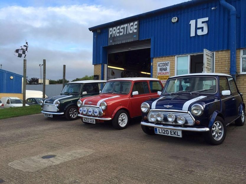 Classic Mini Collection, Prestige autos southend