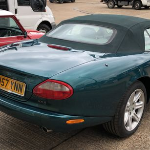 Jaguar XK8 1998 Convertible Complete Repaint - Rear end bumper boot